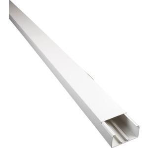 Dietzel Minikanal Ober-u.Unterteil PVC weiß RAL 9010