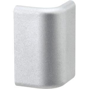 Duo Profil Cap Endkappe 2er Pack Kunststoff Alu matt