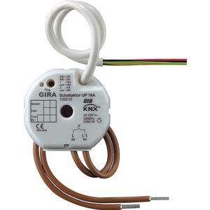 Schaltaktor 1-fach 16 A UP KNX/EIB