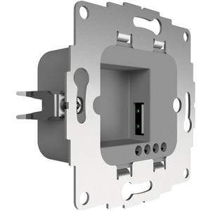 UP Ladestation mit 1 USB-Anschluss 12W 2,4A hellgrau