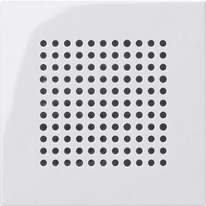 Abdeckung Lautsprecher für System 55 reinweiß