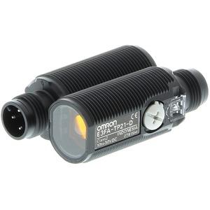 Einweglichtschranke zylindrisch PRO M18 axial Plastik rote LED 20m