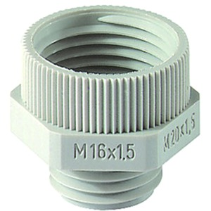 Erweiterung M25M32 PA Polyamid RAL 7035 hellgrau