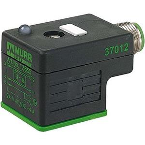 Adapter M12 Stecker auf MSUD Ventilstecker BF A 18mm