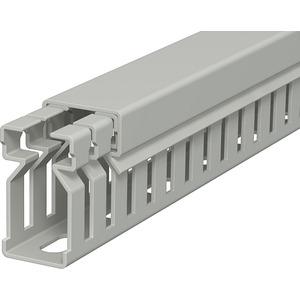 Verdrahtungskanal 30x15x2000 PVC steingrau RAL 7030