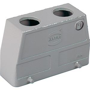 Tüllengehäuse Han B Baugröße: 24 B hohe Bauform Querbügel
