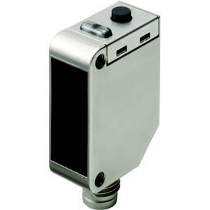 Optischer Sensor Transparenterkennung koaxiale Optik rote LED Metallg.