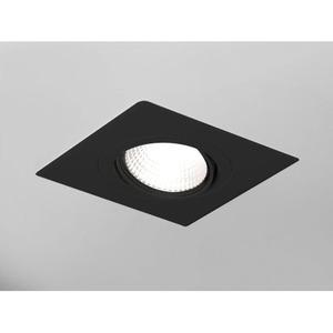 Einbaugehäuse ONLY M SQUARE 1-Fach schwarz