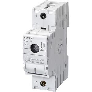 MINIZED-Lasttrennschalter für NEOZED-Sicherungseinsätze D02 2pol.