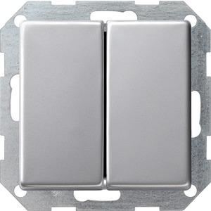 Tastschalter senkr Serien für E22 Aluminium
