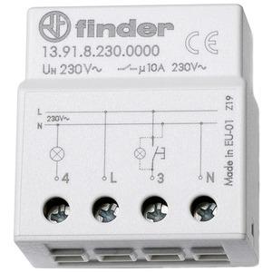 Stromstoßschalter kleine Bauart für UP-Dose 1S 10A 230 V AC Serie 13