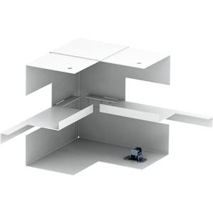 Inneneck vereinfacht symmetrisch 70x130mm St reinweiß RAL 9010