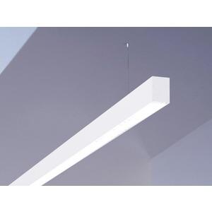 Hängeleuchte LOG OUT weiß Microprismenoptik 1x T16 35/49/80W G5