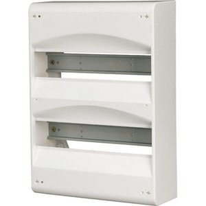 Eaton AP-Kleinverteiler ohne Tür Weiß mit Rückwand BC-A-1/13