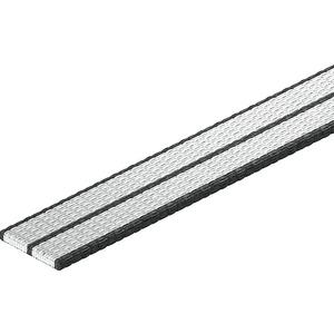 Gewebeband grau 15x1,3mmx25m PP grau
