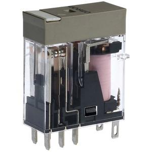 Elektromechanisches Relais 2 Wechsler  12 AC 5A