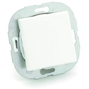 Geräteeinbau SIGNO CUBICO Aus-/Wechselschalter m.Wippe RAL7035