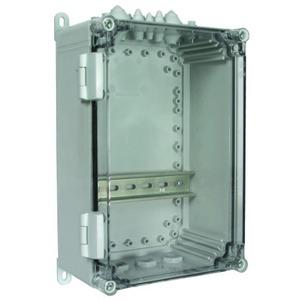 Isolierstoffgehäuse Aufputz IP54 für Reiheneinbaugeräte 10 TE