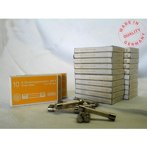 G-Sicherung mittelträge 5x30mm 500V 2,5A
