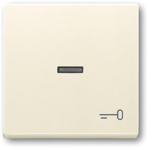 Wippe für Unterputz Taster Symbol Schlüssel elfenbein glänzend