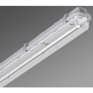 Leuchte höherer Schutzart - Diffusor klar PA 1/58 EVG kg