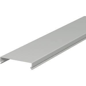 Oberteil für LK4 / LK4/N 100mm PVC steingrau RAL 7030