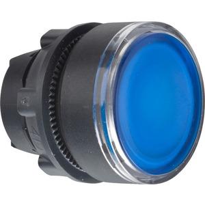 Leuchttaster Frontelement blau ZB5-AW363