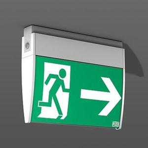 LED Displayleuchte zur Rettungswegkennzeichnung Universal D
