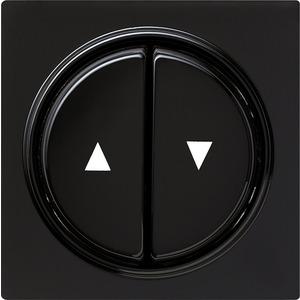 Abdeckung und Wippen mit Pfeilsymbol für S-Color schwarz