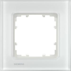 1-fach Glas Rahmen DELTA miro Glas Glas weiß 90x90mm