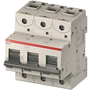 S803N-C80 Hochleist.-Sicherungsautomat 80A,C,400VAC=Icu 36kA,690VAC