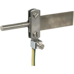 Anschlussklemme f. Bundpotentialausgleich Rd/Fl 8-10 / 30x3 bis 11mm