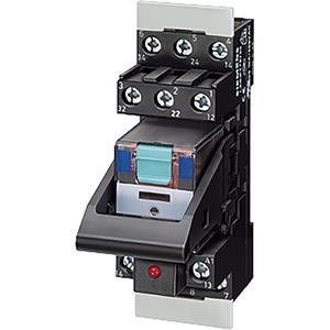 Steckrelais Komplettgerät AC230V 4 Wechsler LED-Modul rot Standard-Ste