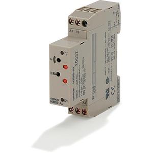 Zeitrelais ansprechverzögert 24-230VAC/24-48VDC 1 Wechsler 5A 17.5mm D
