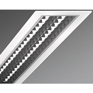 Einbauleuchte Parabolraster-hochglänzend protection-PREDS IP54 2/28/54