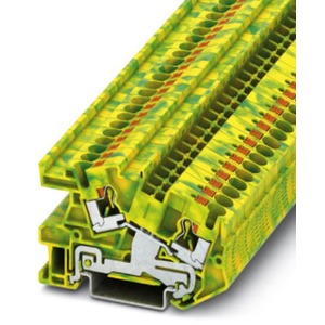 Installationsschutzleiterklemme grün-gelb