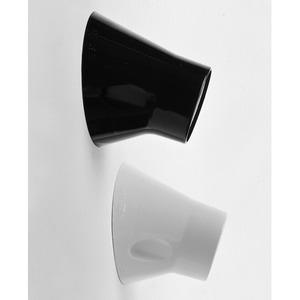 Lampenfassung 3227/04 Kunststoff E27 Wandfassung schwarz