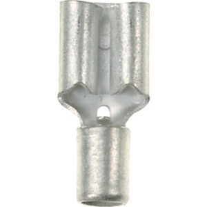 Flachsteckhülsen 6,3x0,8mm