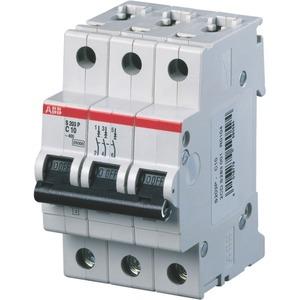 S203P-C10 Sicherungsautomat C-Char. 25 kA 10 A 3P