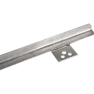 Dehn Profilstaberder 2 m St/tZn 2000 mm Bohrungen Ø: 2x11/1x13 mm