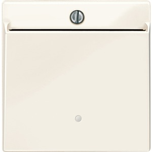Card-Schalter 6A weiß