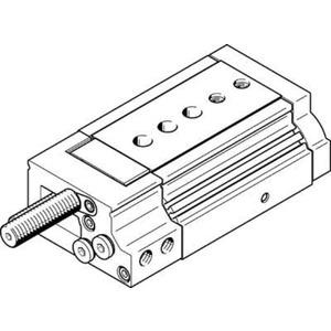 Mini-Schlitten Kugel-Käfig-Führung Baugr. 20 mm / Hub 30 mm P-Dämpf.