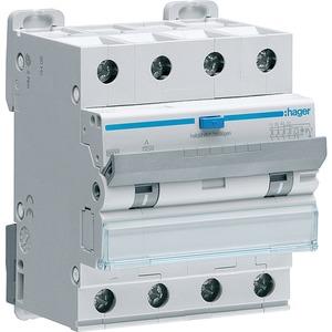 Hager ADM466C   Hager FI-Schalter/Leitungsschutzschalter 4-polig 6 ...