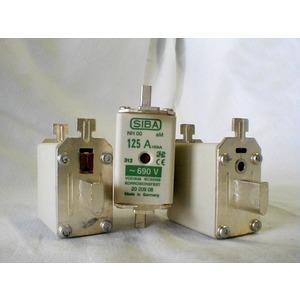 NH-Sicherung aM Gr.00 660V 63A Kombimelder