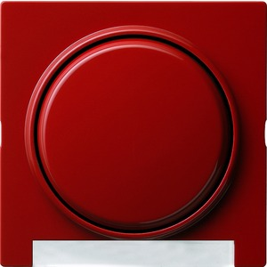 Abdeckung und Wippe mit Beschriftungsfeld für S-Color rot