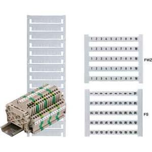 Klemmenmarkierer / Verbindermarkierer 5 x 6 mm Polyamid Nr. 81-90
