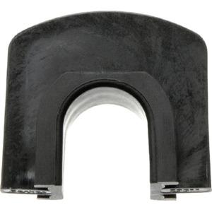 Kombinations-Verbinder Aufputz schwarz glänzend