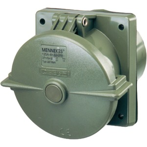 CEE-Anbaudose TM 125A 5-polig 6h 400V IP67