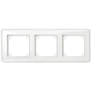 M-CreativAbdeckrahmen 3fach transparent/polarweiß M-Creativ