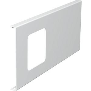 Oberteil für Geräteeinbau 1fach 130x300mm PVC reinweiß RAL 9010